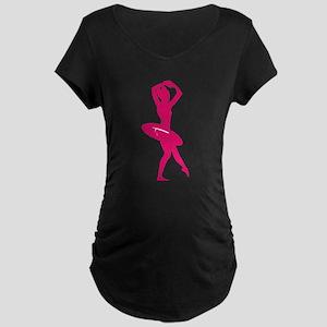BALLET [20pink] Maternity T-Shirt